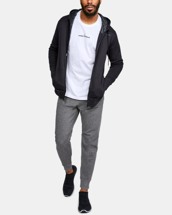 Men's UA Pursuit Long Sleeve, White, pdpMainDesktop image number 1