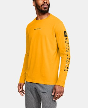 Men's UA Pursuit Long Sleeve  3  Colors Available $45