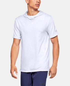 Men's UA Curry Seamless Short Sleeve Hoodie  1  Color Available $62.5 to $65