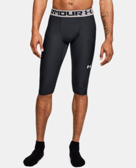 New Arrival Men's UA Baseline Knee Tights  1  Color Available $33