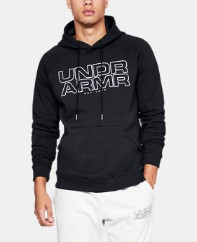 New Arrival  Men's UA Baseline Fleece Hoodie  1  Color Available $75