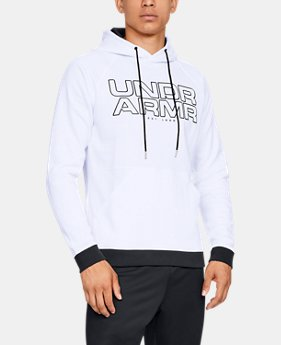 New Arrival Men's UA Baseline Fleece Hoodie  2  Colors Available $60