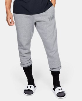 New Arrival  Men's UA Baseline Fleece Joggers  1  Color Available $80
