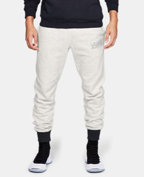 Best Seller Men's UA Baseline Fleece Joggers  1  Color Available $65