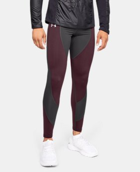 New Arrival Men's ColdGear® Reactor Run Tights  2  Colors Available $90