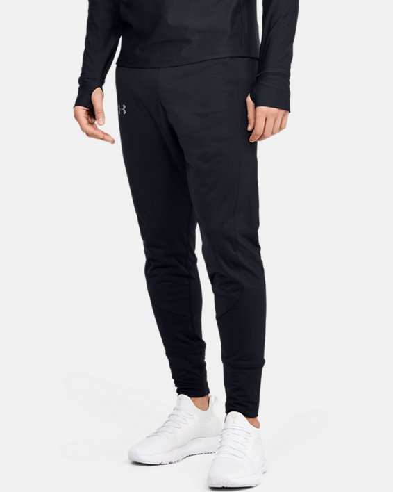 Men's ColdGear® Reactor Pants, Black, pdpMainDesktop image number 0
