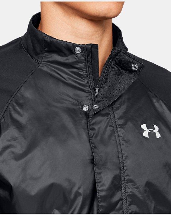 Men's UA Pick Up The Pace Jacket, Black, pdpMainDesktop image number 6