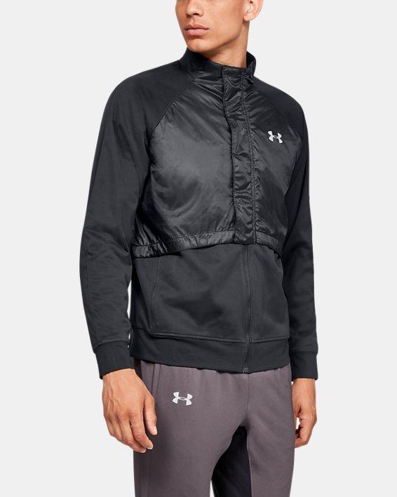 Men's UA Pick Up The Pace Jacket, Black, pdpMainDesktop image number 0