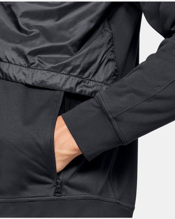 Men's UA Pick Up The Pace Jacket, Black, pdpMainDesktop image number 7