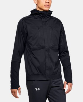 New Arrival Men's UA Perpetual Storm Run Jacket  1  Color Available $350