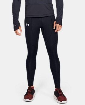 New Arrival Men's ColdGear® Reactor WINDSTOPPER® Tights  1  Color Available $150