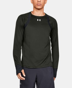 Men's UA HexDelta Long Sleeve  1  Color Available $65