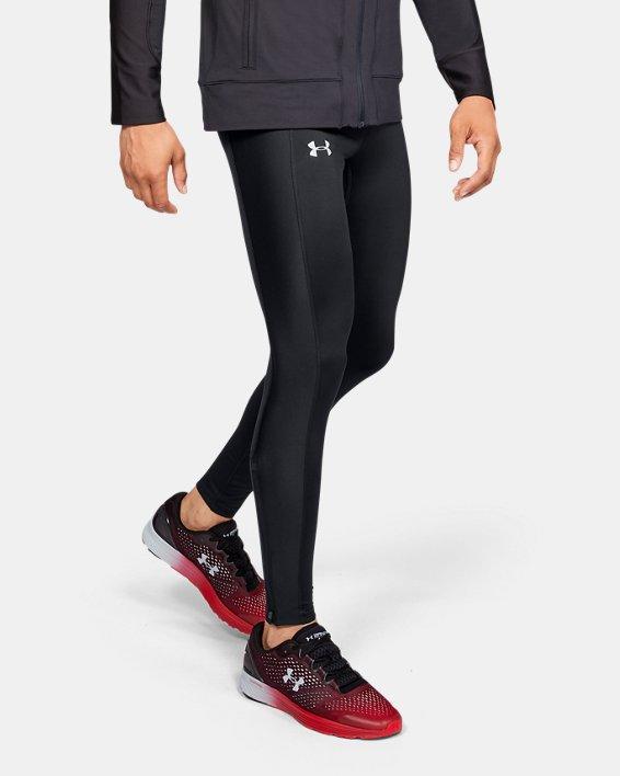Men's ColdGear® Run Tights, Black, pdpMainDesktop image number 0