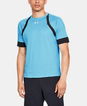 Men's UA HexDelta Short Sleeve  1  Color Available $41.25