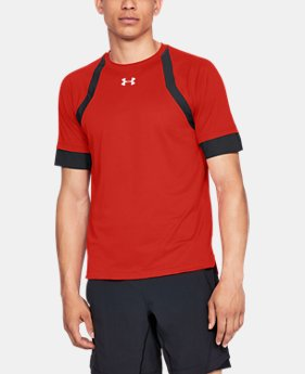 Men's UA HexDelta Short Sleeve  1  Color Available $55