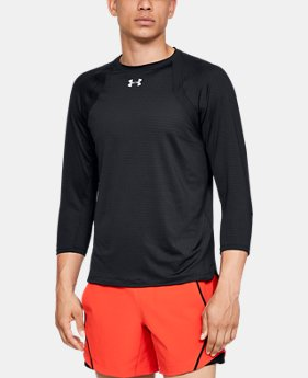 Men's UA HexDelta ¾ Sleeve  1  Color Available $75
