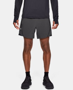 "Best Seller  Men's UA Speedpocket Linerless 6"" Shorts  1  Color Available $55"