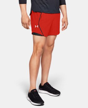 "Men's UA Speedpocket Linerless 6"" Shorts  3  Colors Available $33.75"