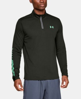 Men's UA Streaker Novelty ¼ Zip  2  Colors Available $60