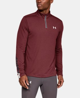 Men s UA Streaker ¼ Zip 1 Color Available  36 ... 0f946137cf4