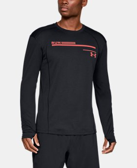 Men's UA Microthread Graphic Long Sleeve  3  Colors Available $40
