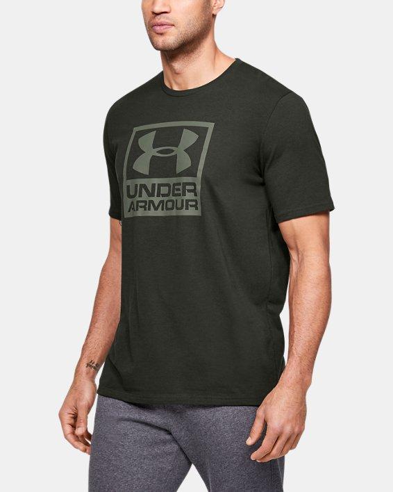 Men's UA Branded Short Sleeve, Green, pdpMainDesktop image number 0