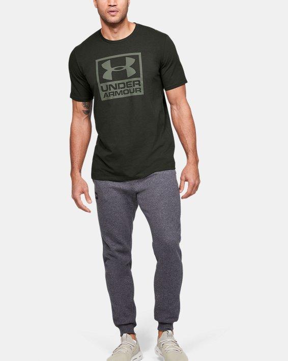 Men's UA Branded Short Sleeve, Green, pdpMainDesktop image number 1
