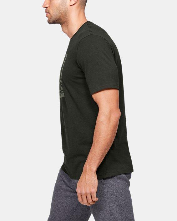 Men's UA Branded Short Sleeve, Green, pdpMainDesktop image number 3