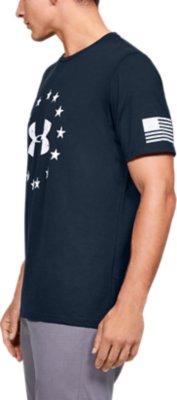 Under Armour Mens UA BBall Rise Up Throw Down Basketball Training T Shirt