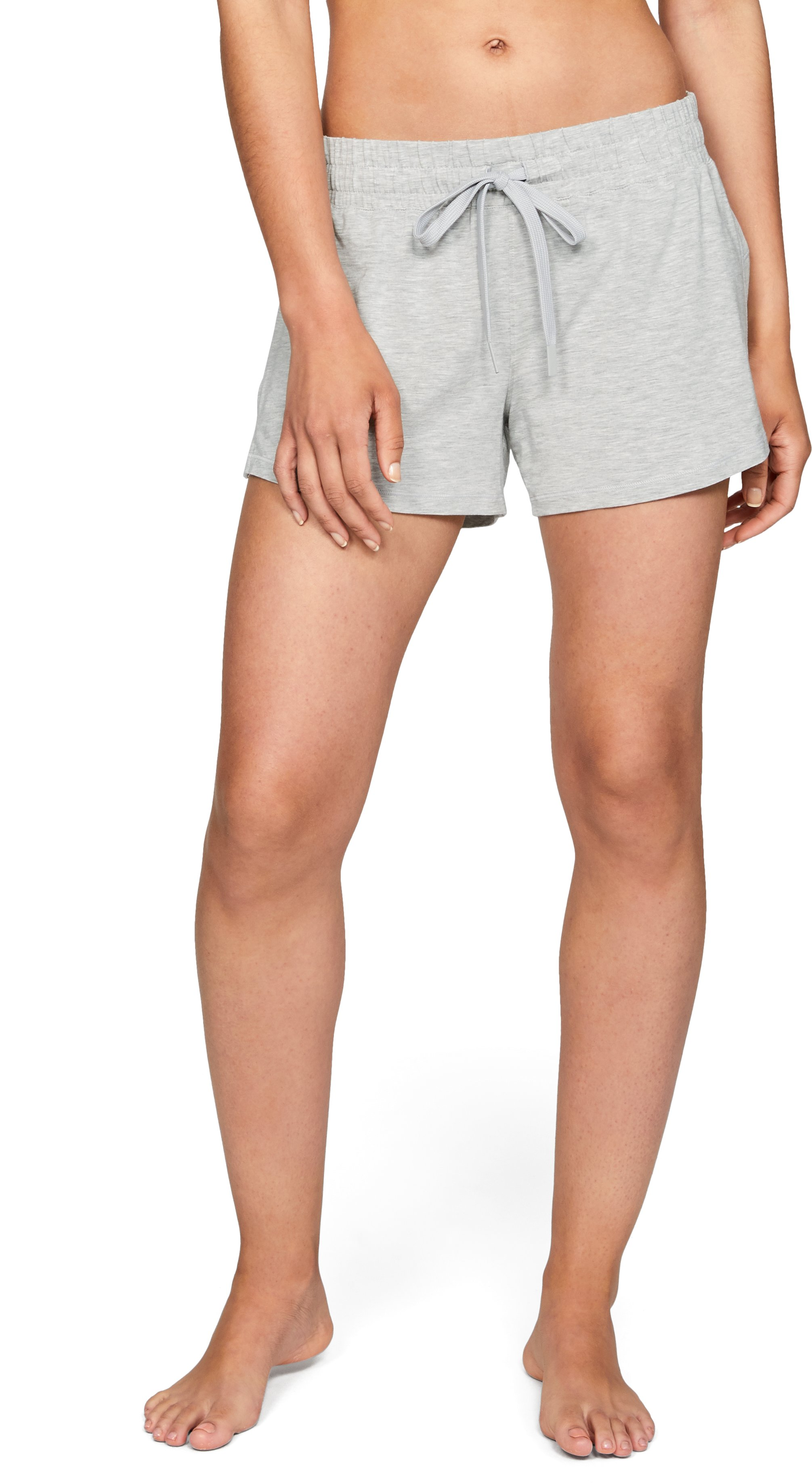 Women's Athlete Recovery Sleepwear™ Shorts, ALUMINUM MEDIUM HEATHER,