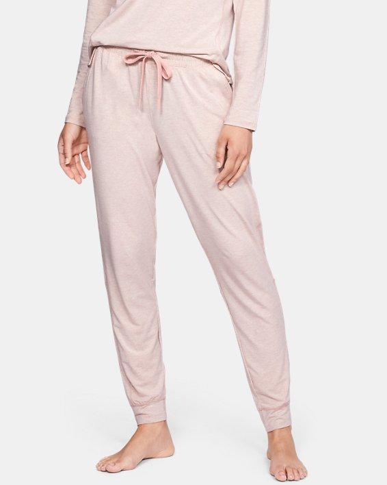 Women's UA RECOVER™ Sleepwear Ultra Comfort Pants, Pink, pdpMainDesktop image number 2