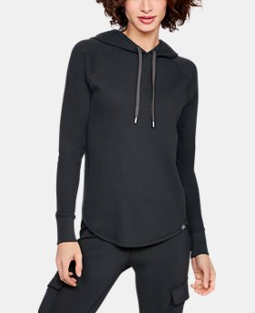 Women's UA Waffle Hoodie  4  Colors Available $50