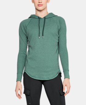 Women's UA Waffle Hoodie  4  Colors Available $60