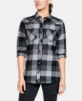Women's UA Tradesman Flannel  1  Color Available $70