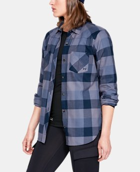 Women's UA Tradesman Flannel  1  Color Available $75