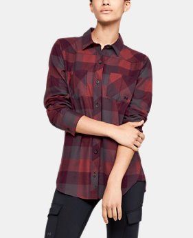 Women's UA Tradesman Flannel  4  Colors Available $75