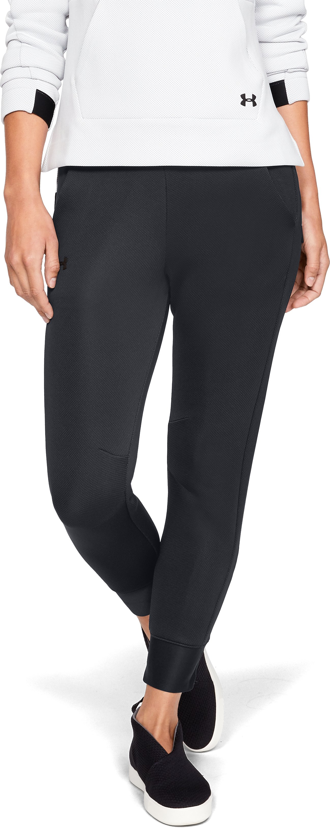 Women's UA Unstoppable /MOVE Pants, Black