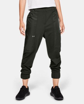 New Arrival Women's UA Generation Twill Supply Joggers  1  Color Available $80