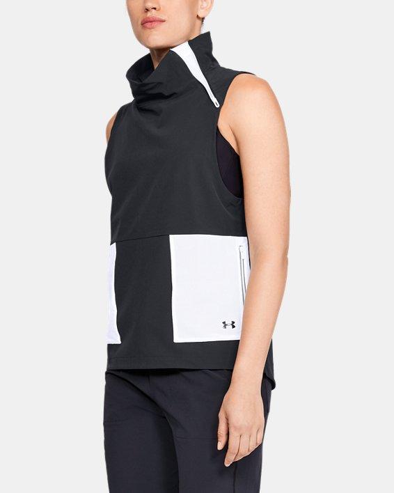 Women's UA Storm Woven Vest, Black, pdpMainDesktop image number 0