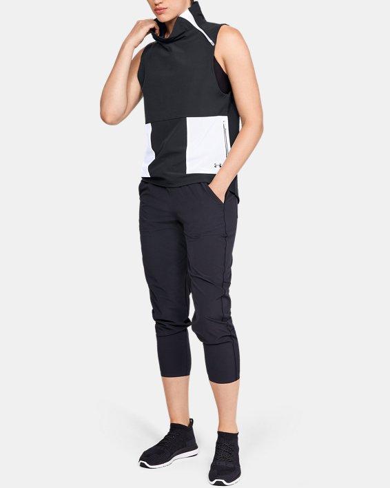Women's UA Storm Woven Vest, Black, pdpMainDesktop image number 1