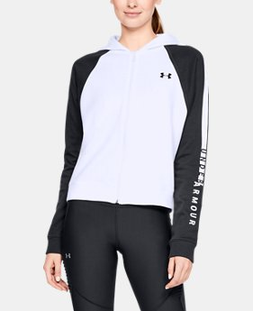 New Arrival Women's UA Rival Fleece Full Zip Hoodie FREE U.S. SHIPPING 6  Colors Available $55