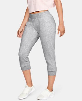 1f0553bfc56db0 New to Outlet Women's UA Rival Fleece Crop 1 Color Available $32.99