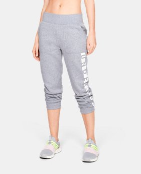 Women's UA Rival Fleece Pants  4  Colors Available $45
