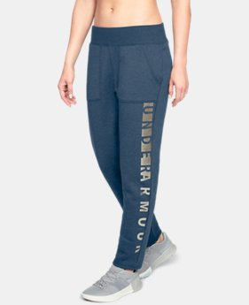 Women's UA Rival Fleece Pants  1  Color Available $39.99