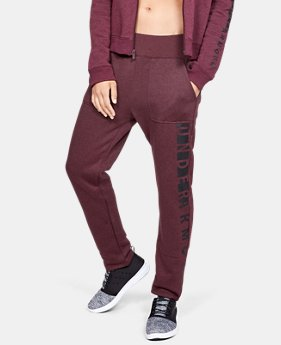 Women's UA Rival Fleece Pants  1  Color Available $39.99 to $45