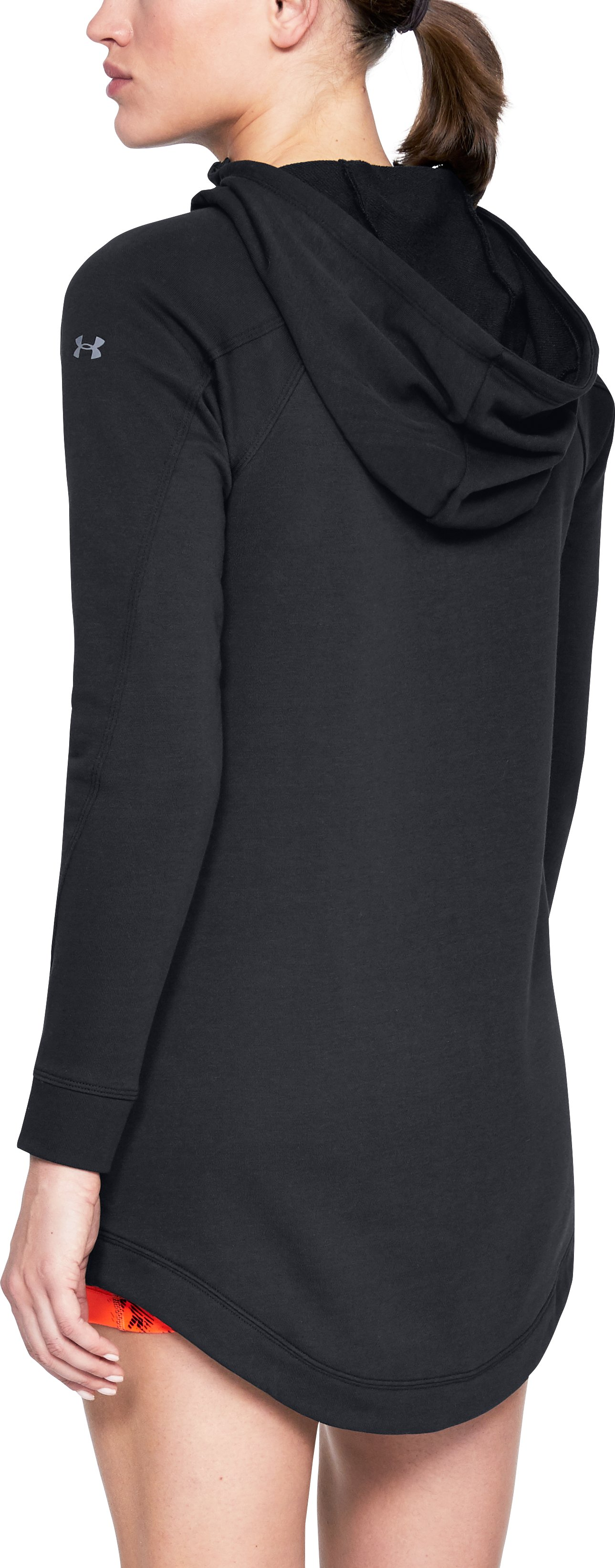 Women's UA Favorite Terry Dress, Black ,