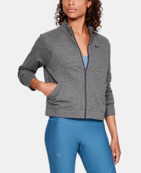 Women's UA Favorite Terry Bomber Jacket  2  Colors Available $75