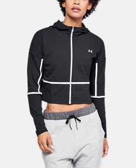 New Arrival Women's UA Lighter Longer Full Zip Hoodie FREE U.S. SHIPPING 2  Colors Available $55