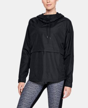New Arrival Women's UA Storm Iridescent Woven Hoodie FREE U.S. SHIPPING 1  Color Available $50
