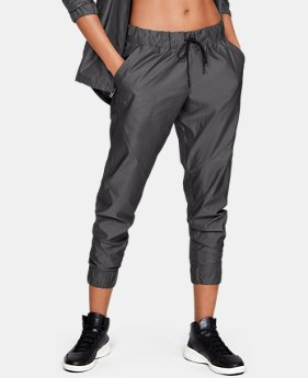 Women's UA Storm Iridescent Woven Pants  1  Color Available $60